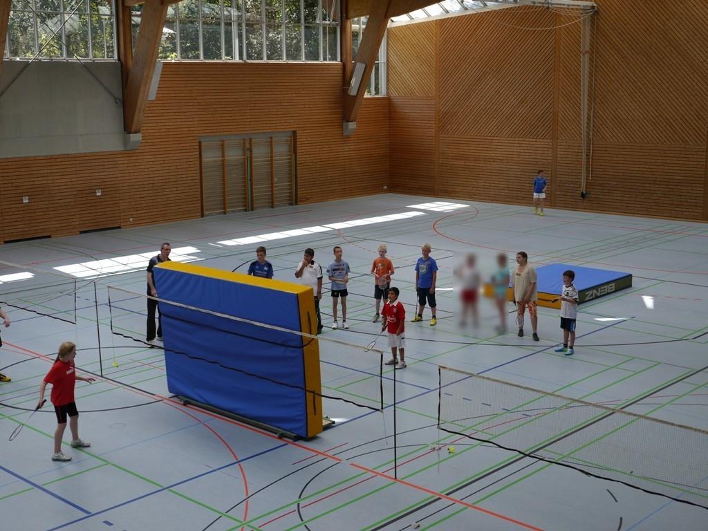 Asiatischer Badmintonspieler Video Hans-Wurstnet